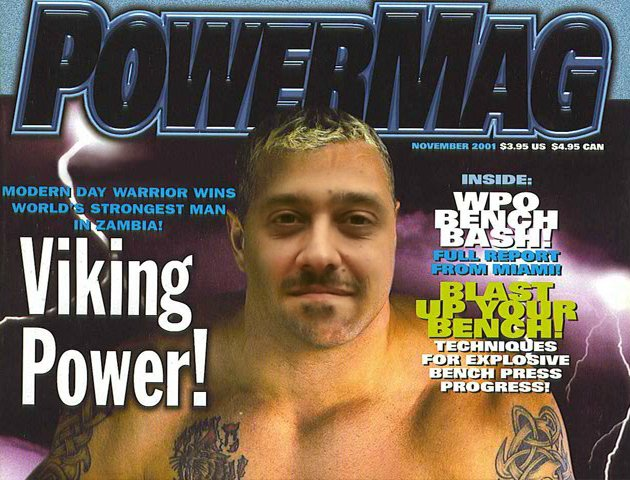 Djackenew dans le magazine Powermag