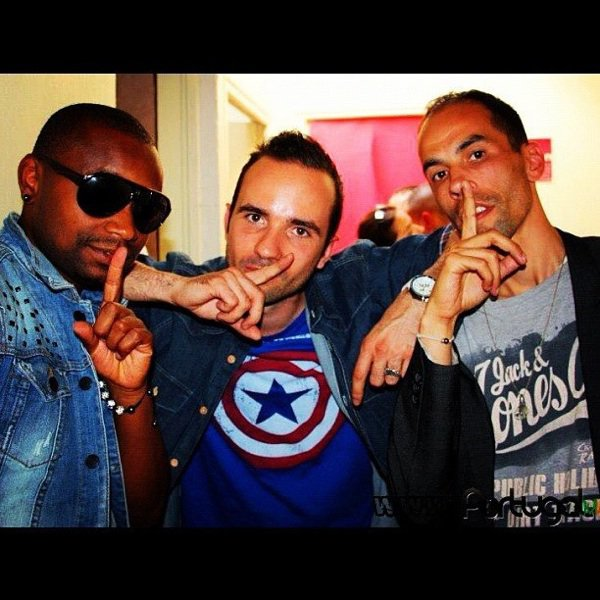 Papa London avec Manyone et Mike Ruiz