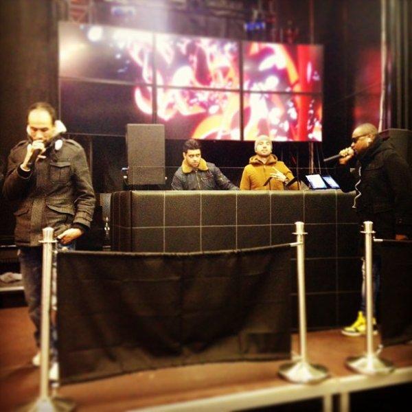 Papa London Répétitions avant Concert