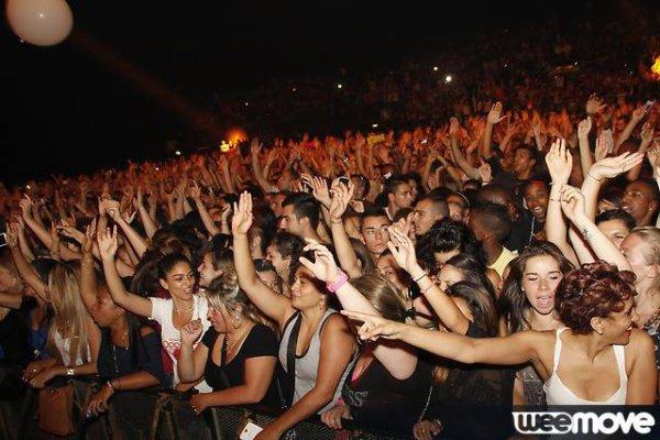 Papa London en concert au Nikaïa