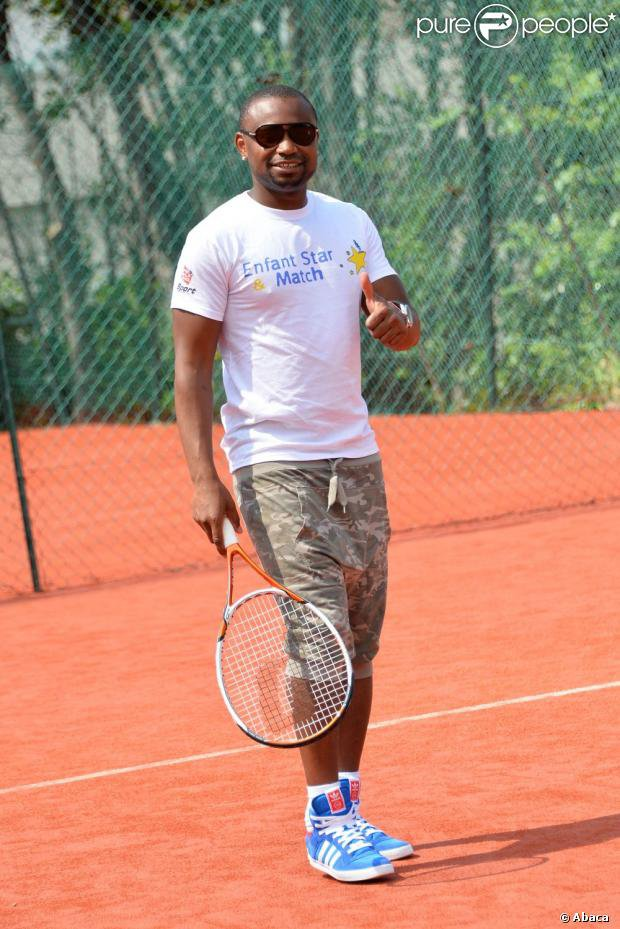 Papa London Tournoi de Tennis  Enfant Star et Match par Pure People