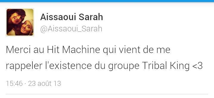 Tribal king au Hit Machine