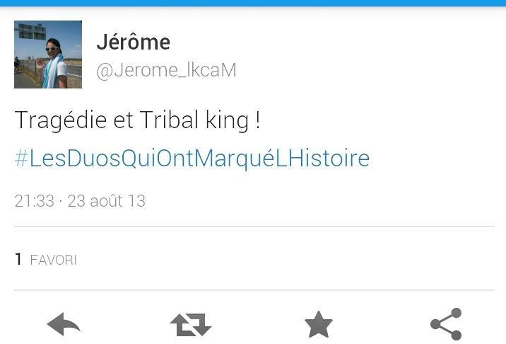 Les Tribal king ont en parle sur Twitter