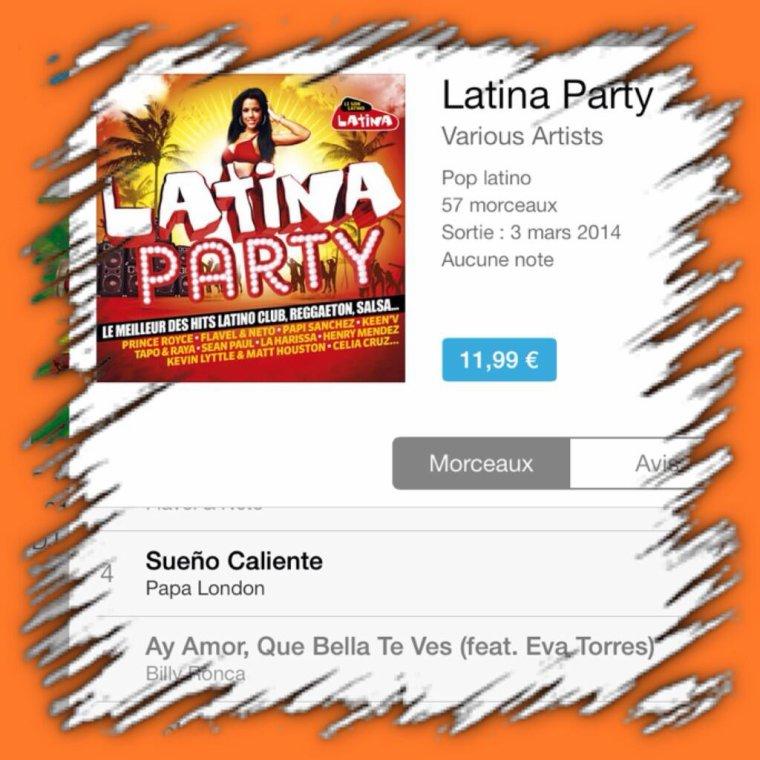 Al Varela et Sueño Caliente sont sur la nouvelle compil Latina