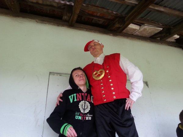L'Alsachien Kevin Schmitt et la Famille Djack
