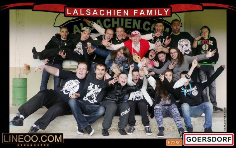 La famille de l'Alsachien à Goersdorf