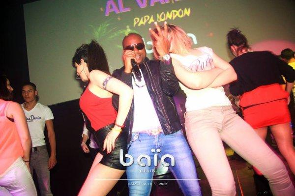 Al Varela au Baïa Club