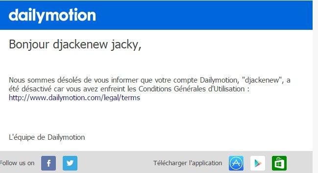 Coup de gueule sur Dailymotion.