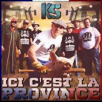 KS et la pochette ICI C'EST LA PROVINCE
