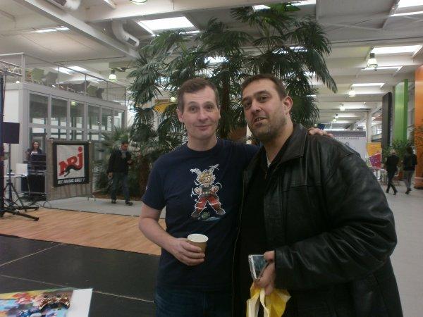 Avec Marcus de Gameone Teamg1