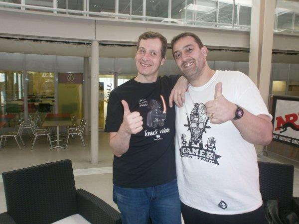 Avec Marcus de la teamg1