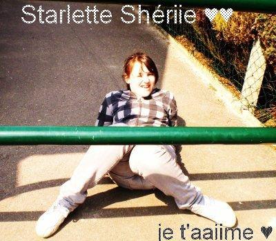 Celle qui me redonne le Souriiire!  Celle Quue J'aiime aa Laa Foliie!! Starrlette Shériiee ♥