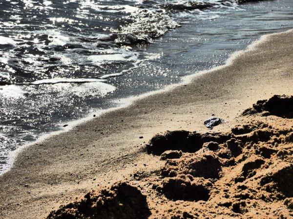 SAINT-RAPHAEL, Avril 2014, la plage