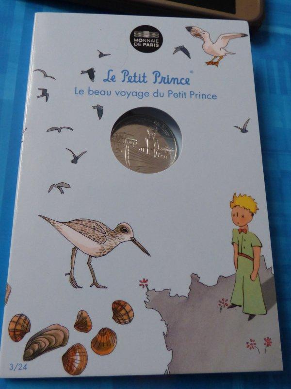 """Ma colection""""Le petit prince"""" : n°3 Le petit prince navigue sur une Pinasse"""