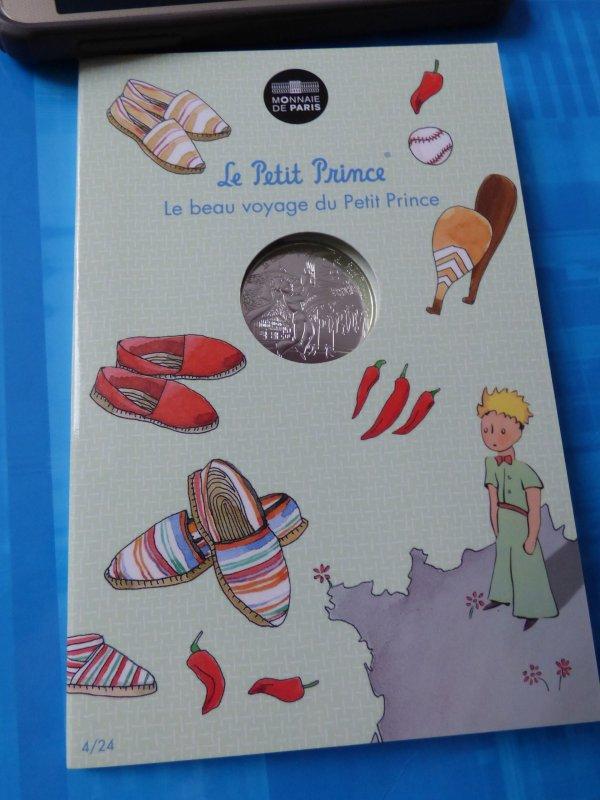 """Ma colection""""Le petit prince"""" : n°4 Le petit prince joue à la pelotte basque"""