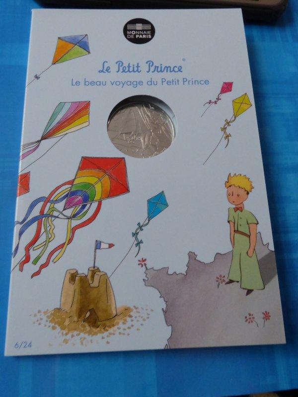 """Ma colection""""Le petit prince"""" : n°6 Le petit prince fait du cerf volant"""