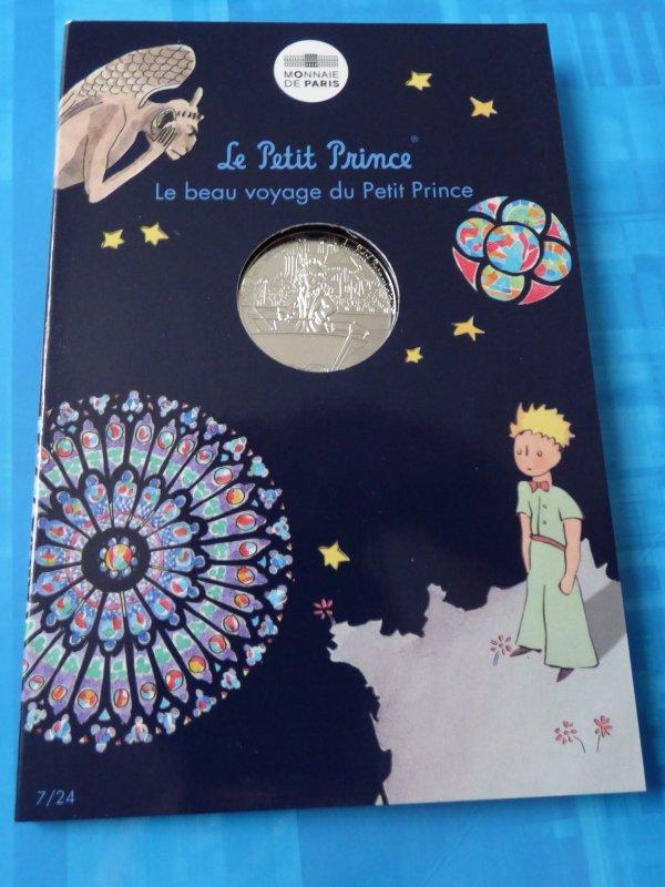 """Ma colection""""Le petit prince"""" : n°7 Le petit prince visite Notre Dame"""