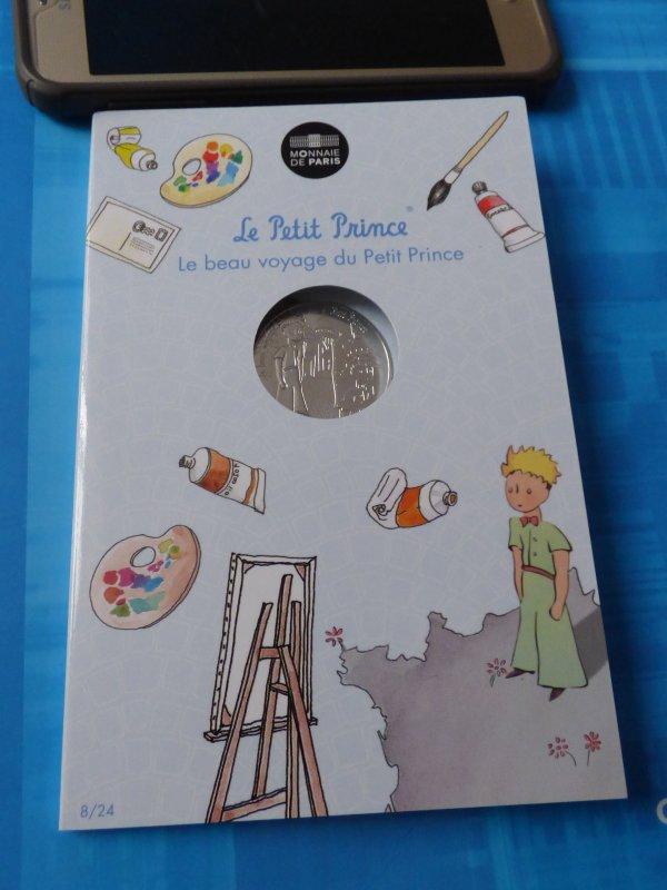 """Ma colection""""Le petit prince"""" : n°8 Le petit prince et les peintres"""