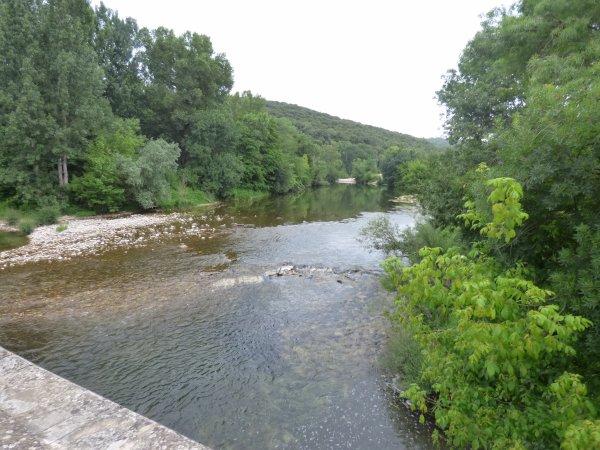 Village pittoresque de Montclus, juin