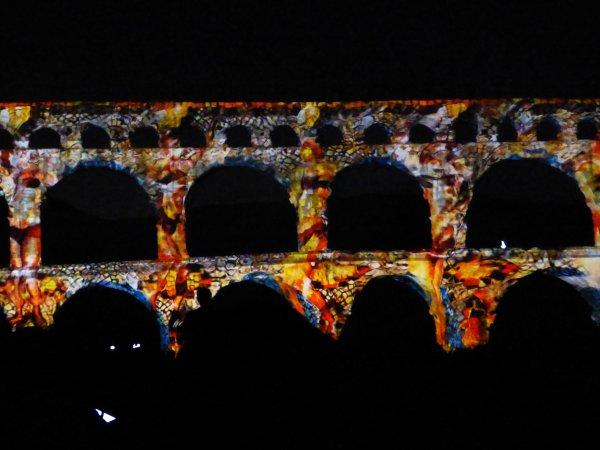 Fééries du Pont du Gard 2017