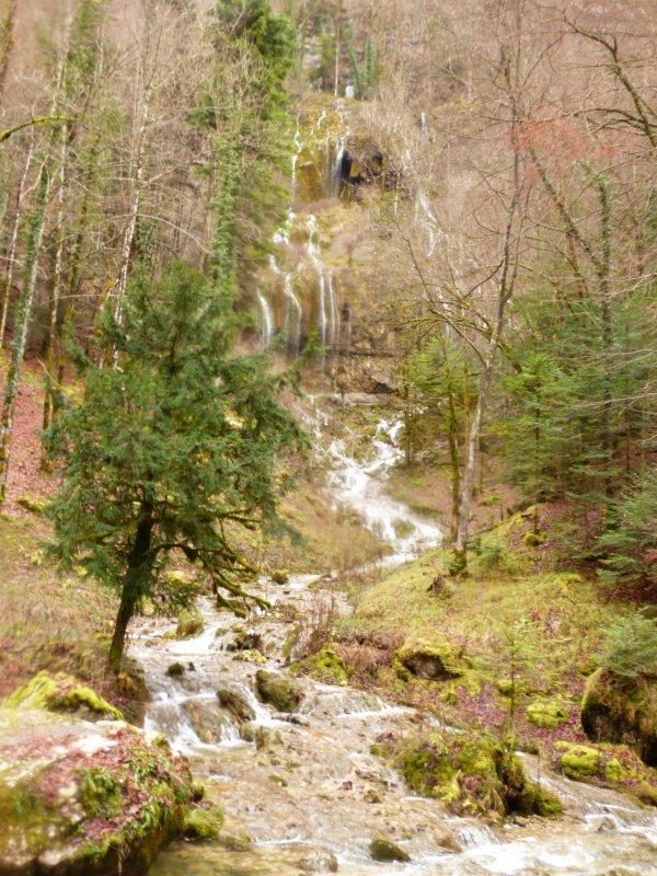 Cascades du Hérisson, Novembre 2017