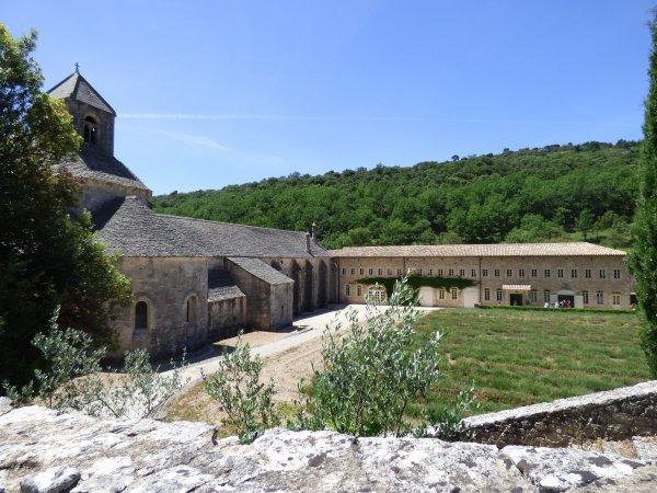 Abbaye de sénanque, juin 2017