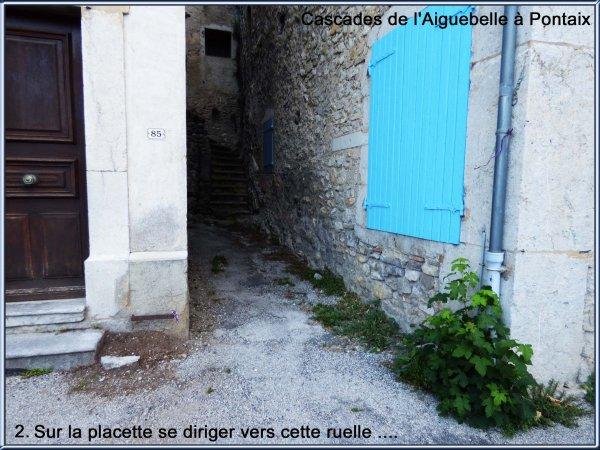 Cascades d'Aiguebelle à Pontaix (Juin 2017)
