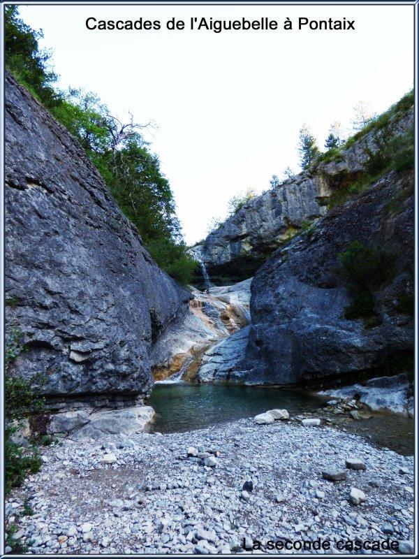 Cascades d'Aiguebelle à Pontaix, juin 2017