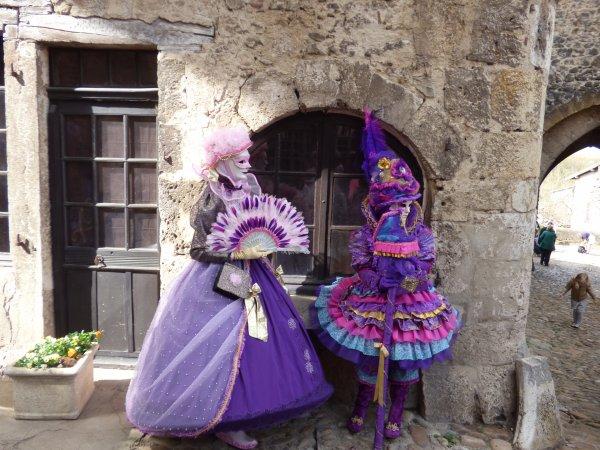 Défilé vénitien de Pérouges , Avril 2018