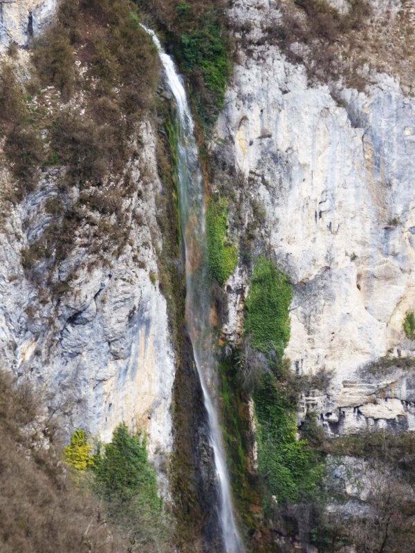 Cascade de la Culaz, avril 2018