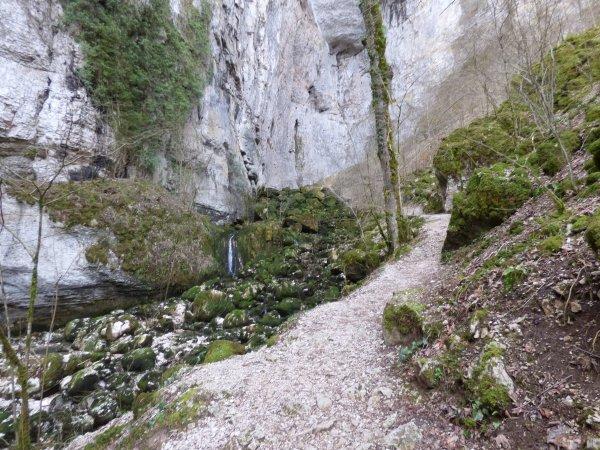 Grotte sarrazine, mars 2018