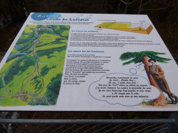 Cascade de la Billaude (avril 2018)