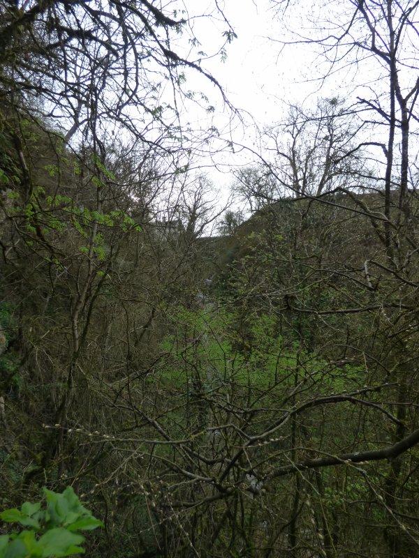 Cascade de la Vallière, avril 2018