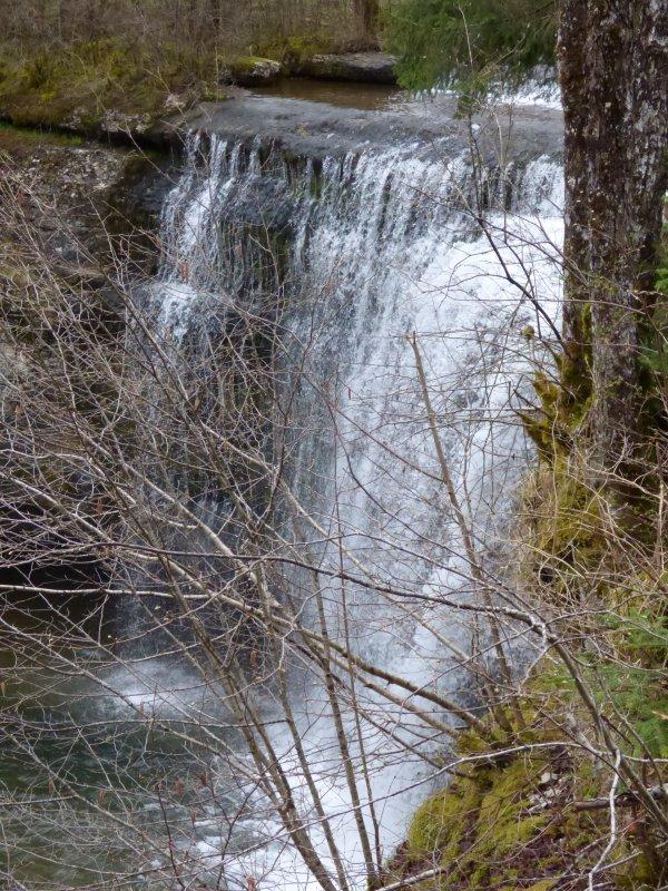 Cascades du Hérisson, Avril 2018