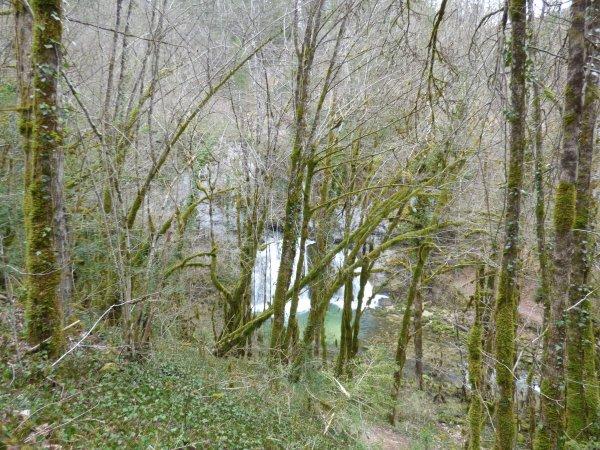 Cascade des Combes, avril 2018