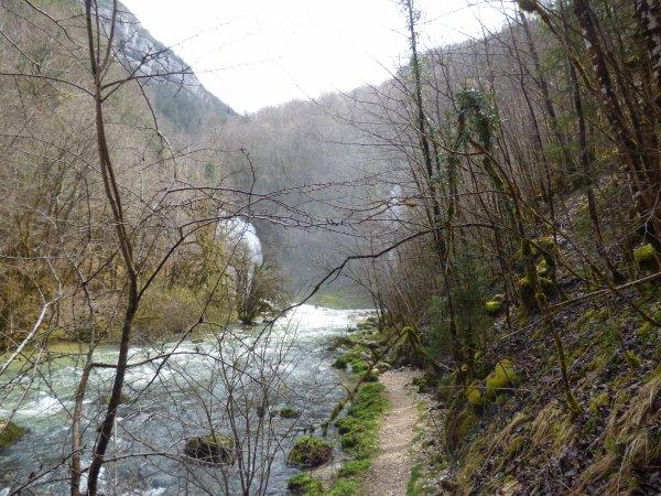 Gorges du Flumen, avril 2018
