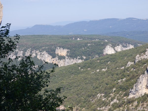 Gorges de l'Ardèche , juin 2018
