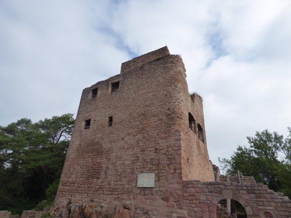 Les Trois Châteaux du Haut-Eguisheim,juillet 2018