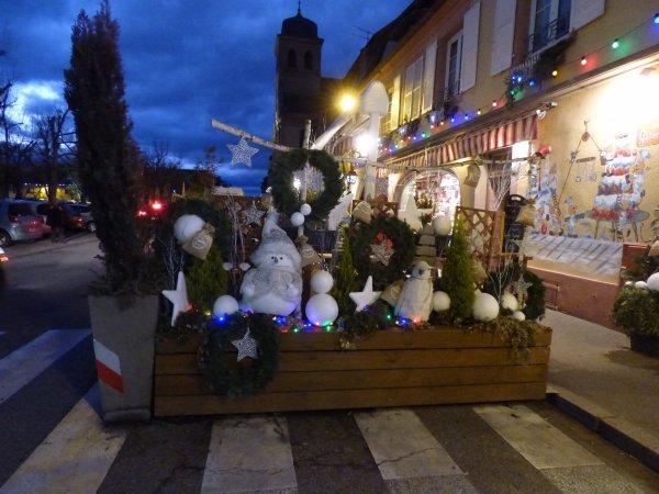 Marché de Noël de Neuf Brisach, décembre 2018