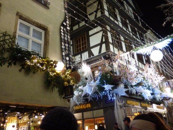 Marché de Noël de Strasbourg, Décembre 2018, nocturne
