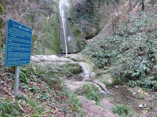 Cascade de la Vallière, Décembre 2018
