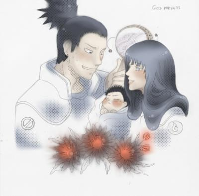 Shika/hina : Godparents By Warrior_Of_Ruin
