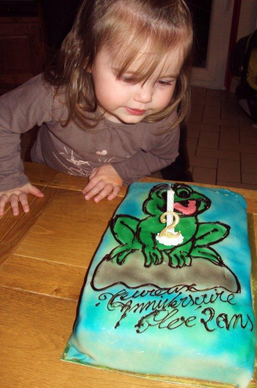 2 ans Chloé!!