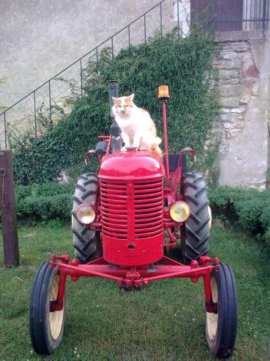 Mon tout premier tracteur