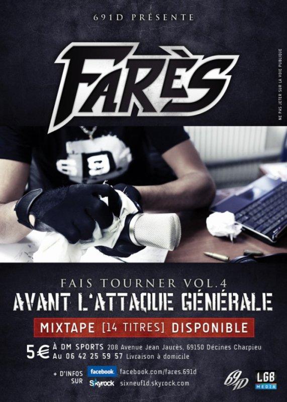 FARES - FAIS TOURNER VOL 4 EST ENFIN DISPONIBLE