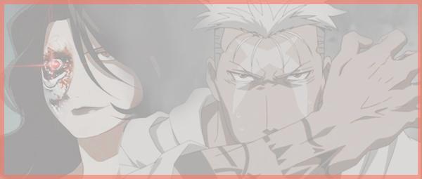 Sommaire vers les fictions Fullmetal Alchemist [Lust, Scar, Envy] ♡