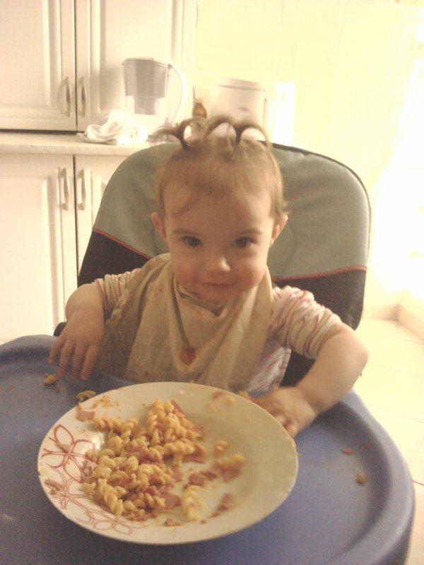 ma petite fille qui a 1 ans maintenant