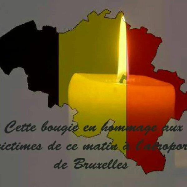 courage a mes ami(e) belge pour ce terrible drame condoléance au famille