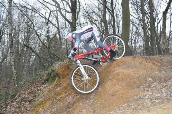 Entrainement VTT Mont-Saint-Guibert 18.01.2012