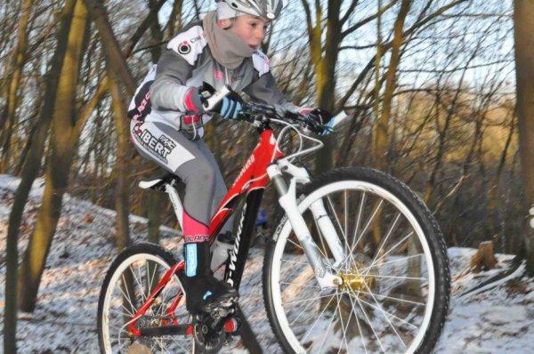 Entrainement VTT à Chaumont-Gistoux 01.02.2012